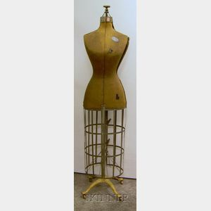 Early 20th Century Adjustable Dress Maker's Form