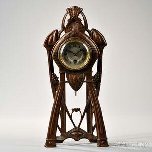 Junghans Art Nouveau Shelf Clock