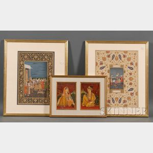Three Indian Miniatures