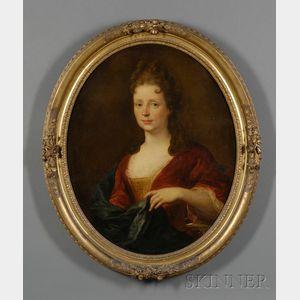 French School, 18th Century      Portrait of Louise Adélaïde de Bourbon, also known as Mademoiselle de La Roche-sur-Yon