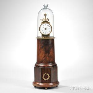"""Simon Willard"" Patent Alarm Timepiece or ""Lighthouse Clock,"""