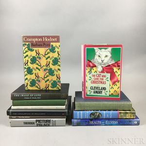 Literary and Photography Books, Many Signed by Authors, Artists, or Ex Libris Marie Cosindas (1923-2017), Eleven Titles.