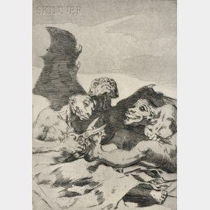 Francisco José de Goya y Lucientes (Spanish, 1746-1828)      Se Repulen (They Spruce Themselves Up)