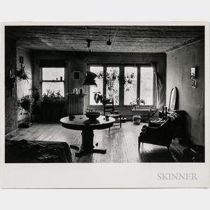 Walker Evans (American, 1903-1975)       Mary Frank's Bedroom, New York