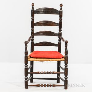 Turned Slat-back Armchair