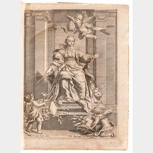 Donati, Alessandro (1584-1640) Roma Vetus ac Recens Utriusque Aedificiis ad Eruditam Cognitionem Expositis.