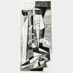 Werner Drewes (American/German, 1899-1985)      Construction