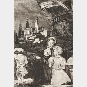 Minna Wright Citron (American, 1896-1991)      Eight Prints 1934-1945 / A Portfolio of Eight Prints