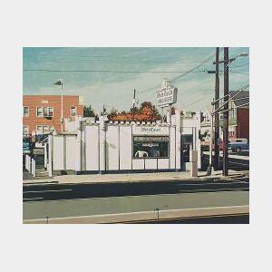 John Baeder (American, b. 1938)  White Castle