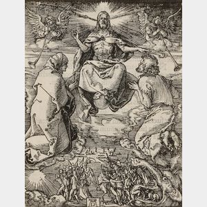 Albrecht Dürer (German, 1471-1528)      The Last Judgment