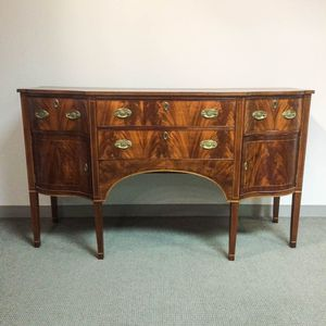 Federal Inlaid Mahogany Veneer Sideboard