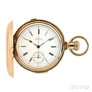 Audemars 18kt Gold Minute Repeating Chronograph Watch