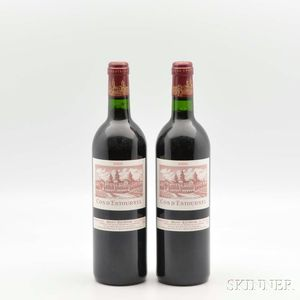 Chateau Cos dEstournel 2000, 2 bottles