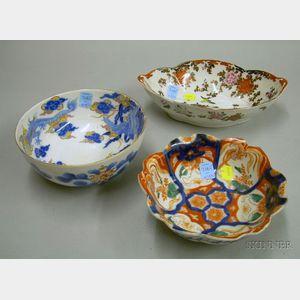 Three Asian Porcelain Bowls