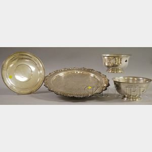 Group of Silver and Silver-Plated Serving Items