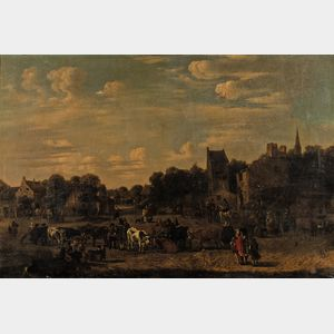 Attributed to Alexander van Bredael (Flemish, 1663-1722)      Landscape