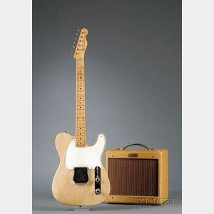 American Electric Guitar, Fender Electric Instrument Co., Fullerton, 1957