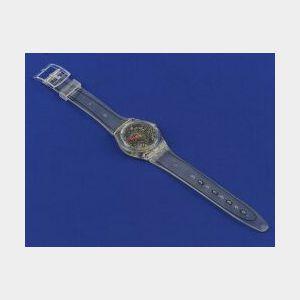 Transparent Fashion Wristwatch