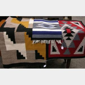 Three Navajo Wool Weavings