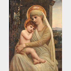Napoleone Parisani (Italian, 1854-1932)      Madonna and Child