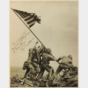 Joe Rosenthal:  Raising The Flag On Iwo Jima
