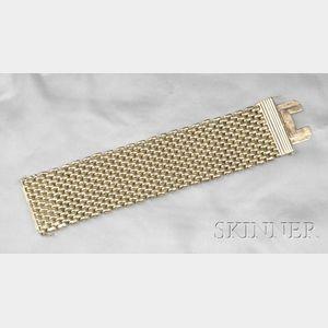 18kt Gold Strap Bracelet