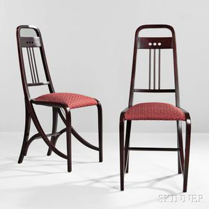Two Viennese Seccessionist Chairs
