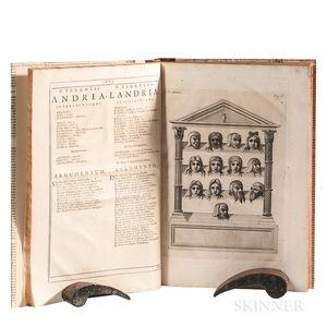 Terentius Afer, Publius (185 BC-159 BC) trans. Nicolo Forteguerri (1674-1735) Comoediae nunc Primum Italicis Versibus Redditae.
