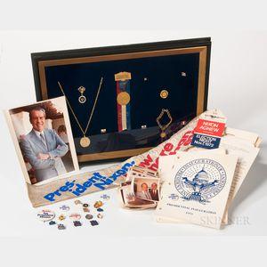 Nixon, Richard M. (1913-1994) A Collection of Memorabilia, 1972-1973.