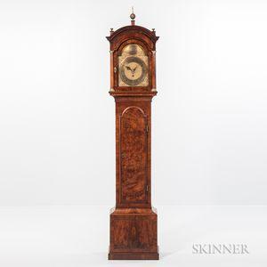 Diminutive London Time and Alarm Longcase Clock