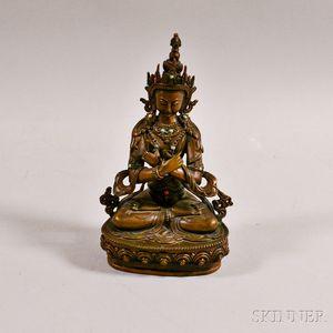 Bronze Figure of Maitreya Buddha