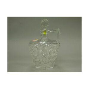 Colorless Cut Glass Jug-form Decanter.