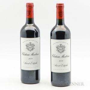 Chateau Montrose 2009, 2 bottles