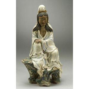 Pottery Figure of the Goddess Kannon
