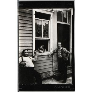 Walker Evans (American, 1903-1975)       People in Summer, Ossining, New York