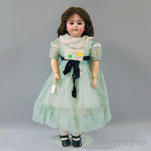 Large Simon Halbig 1260 Shoulder Head Doll