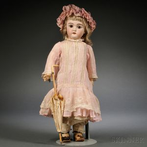 Handwerck 109 DEP Bisque Head Girl Doll