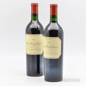 Bryant Family Cabernet Sauvignon Proprietor Grown 1997, 2 bottles