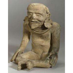 Pre-Columbian Pottery Effigy Figure