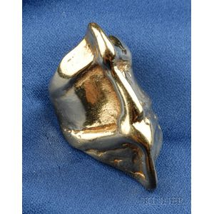Artist-Designed 18kt Gold Ring, Gittou Knoop