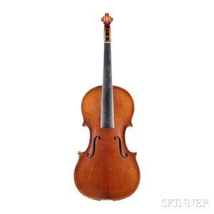 Czech Violin, John Juzek, Prague, 1920,