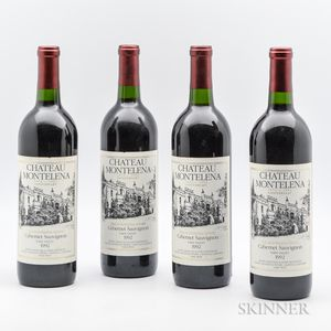 Chateau Montelena Estate (1972-1992 Anniversary) 1992, 4 bottles