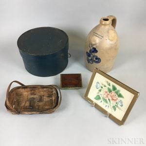 Five Decorative Items