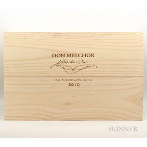 Concha y Toro Don Melchor Cabernet Sauvignon 2012, 6 bottles (owc)