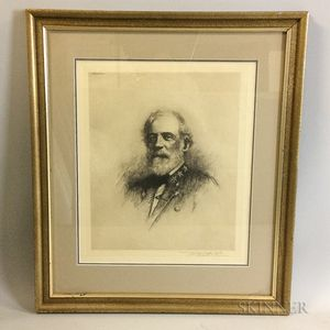Framed Print of Robert E. Lee