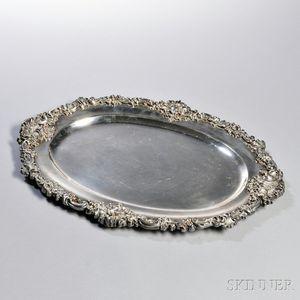 Durgin Sterling Silver Platter