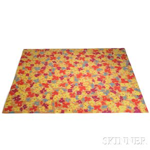 Edward Fields Pop Art Floral Carpet