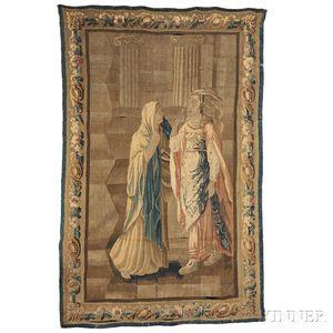 Flemish Verdure Tapestry Panel