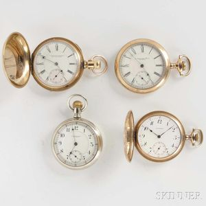 Four Howard Stem-wind Watches