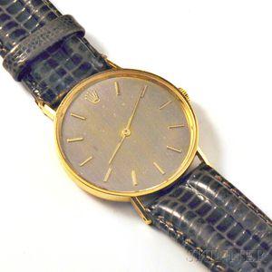 18kt Gold Wristwatch, Rolex
